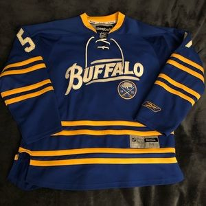 Men's Throwback Tyler Myers Buffalo Sabres Jersey